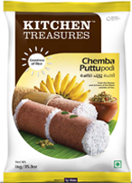 Kitchen Treasures Chemba Puttu – 1Kg