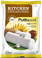 Kitchen Treasures Puttu Podi White – 1Kg