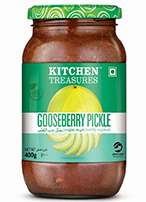 Kitchen Treasures Goosberry Pickle – 400g