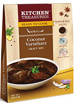 Kitchen Treasures Coconut Fried (Varuthara) Gravy – 100g