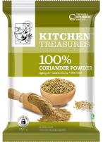 Kitchen Treasures Coriander Powder – 250g