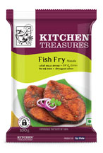 Kitchen Treasures Fish Fry Masala – 100g