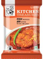 Kitchen Treasures Fish Masala – 200g