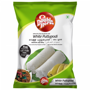 Double Horse White Puttu Podi – 1kg