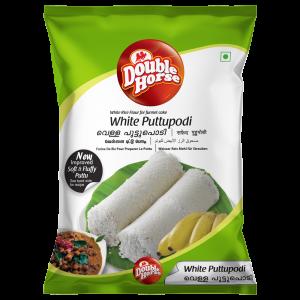 Double Horse White Puttu Podi – 1kg