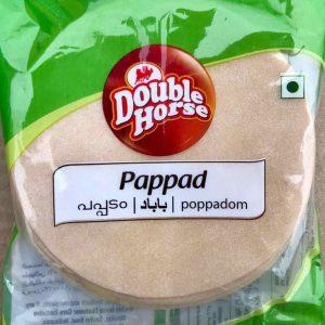 Double Horse Guruvayur Pappad – 200g