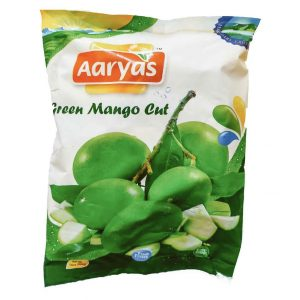 Aaryas Cut Mango Green – 400g