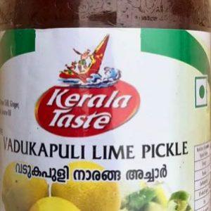 Kerala Taste Vadukapuli Lime Pickles – 400g