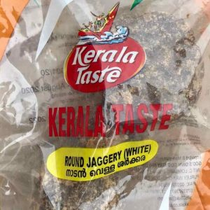 Kerala Taste Round White Jaggery 500g/1kg