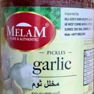 Melam Garlic Pickle – 400g