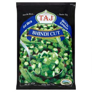 Taj Frozen Cut  Okra – 1kg