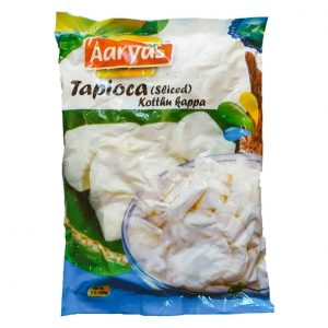 Aaryas Tapioca Sliced – 908g