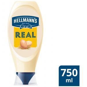 Hellmanns Squeezy Real (mayonnaise)- 750ml