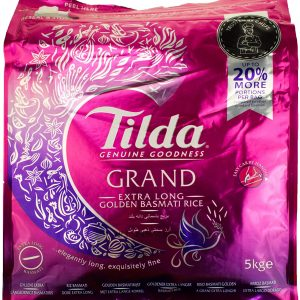 Tilda Grand-Extra Long Basmati Rice – 5kg