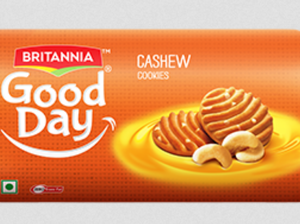 Britannia – Good Day Biscuit (Cashew Cookies) – 72g- (3 for £1)