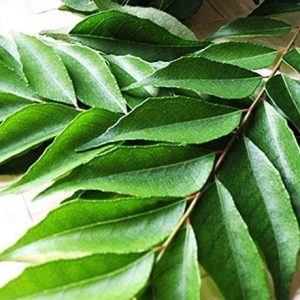 Curry leaves – Approximately 15g