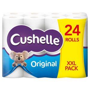 Cushelle White – 24 pk