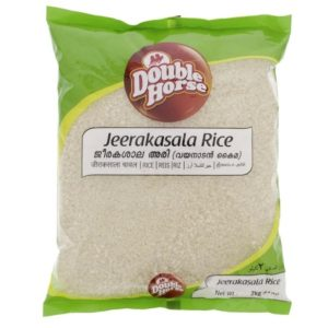 Double Horse Jeerakasala (Khaima) Rice – 2 kg