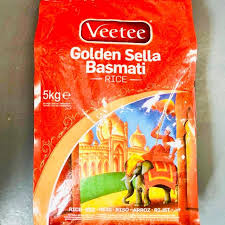 Veetee Golden Sella Rice- basmati rice  – 5kg