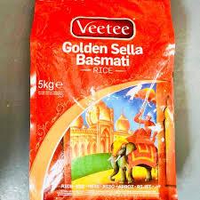 Veetee Golden Sella Rice- basmati rice  – 5kg
