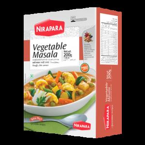 Nirapara Vegetable Masala – 200g