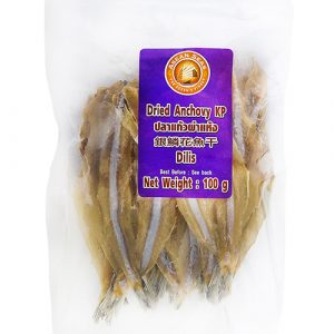 ASEAN SEAS Dried Anchovies (BP/Headless) – 100g