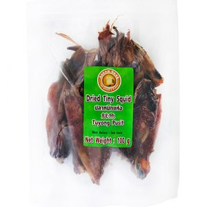 ASEAN SEAS Dried Tiny Squid – 100g