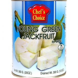 Chefs Choice Green Jackfruit In Brine – 565g