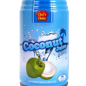Chefs Choice Coconut Juice With Pulp – 330ml