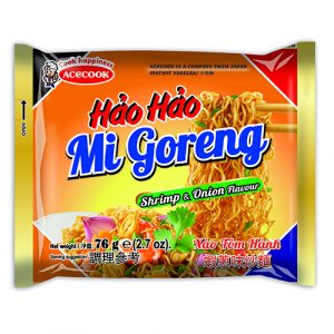 Hao Hao Instant Noodles Fried Onion Shrimp Flavour – 76g