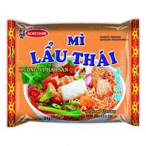 Mi Lau Thai Instant Rice Noodles Seafood Flavour – 81g