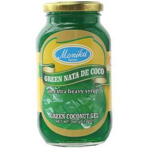 Monika Preserves Coconut Gel  (Nata De Coco) Green – 340g