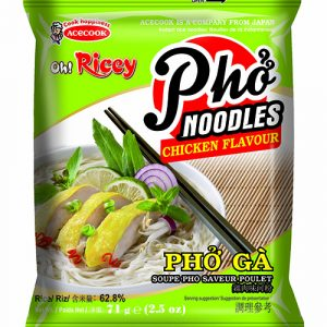 Oh Ricey Instant Rice Noodles Chicken Flavour – 70g