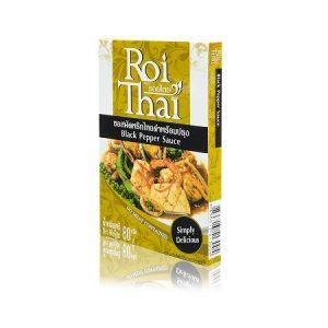 Roi Thai Black Pepper Stir Fry Sauce – 80g