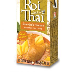 Roi Thai Massaman  Curry Cooking  Sauce – 250ml