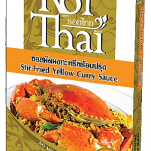 Roi Thai Yellow Curry Stir -Fry Sauce For Seafood  – 80g