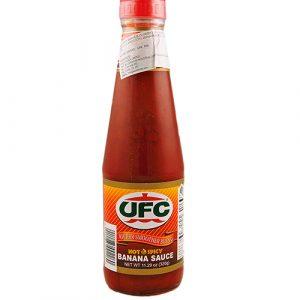 UFC Banana Sauce Hot – 320g