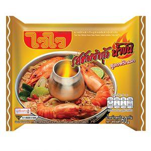 Wai Wai Instant Noodles Creamy Tom Yum Shrimp Flavour – 60g