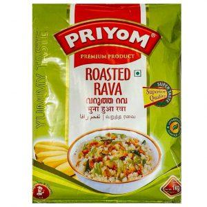 Priyom Roasted Rava – 1kg