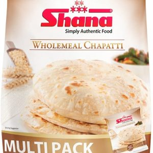 Shana Wholemeal Chapatti Multipack, Pack of 20