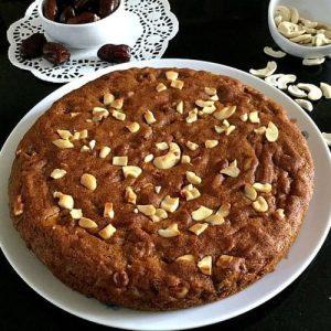 Instant Delight Dates & Cashew Cake -700 Gm