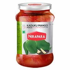 Nirapara Kadu mango pickle-400 Gm